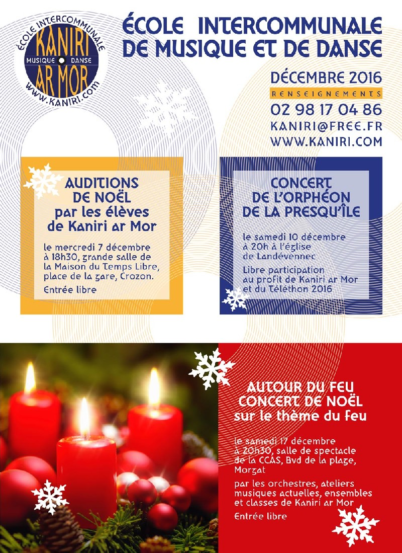 Auditions de Noël