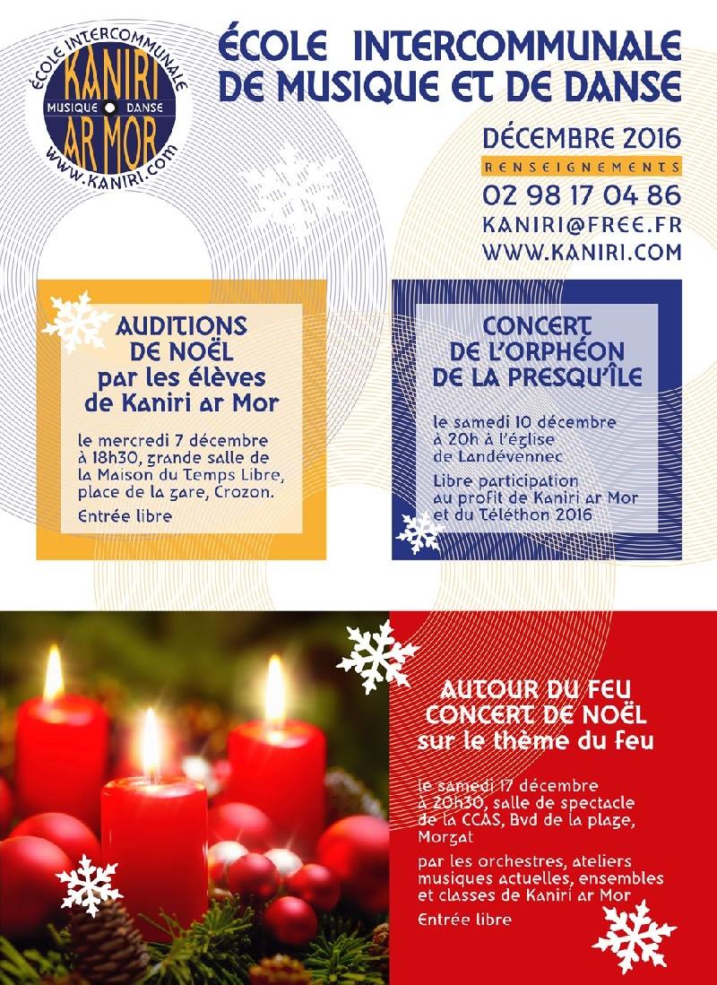 Concert de Noël Autour du feu